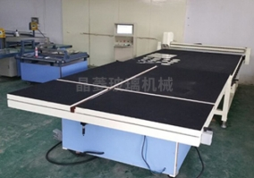 全自动玻璃切割机+掰片台JLQG-2620型