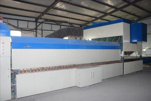 玻璃钢化炉设备